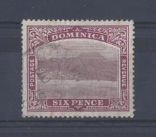 DOMINICA......KING GEORGE V.(1910-36)....6d.....SG52.......VFU... - Dominique (...-1978)