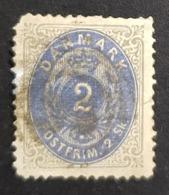 1870-1871 Royal Emblem, Danmark, Denmark, Danemark, *, ** Or Used - Usado