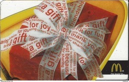 McDonalds Gift Card Copyright 2005 - Gift Cards