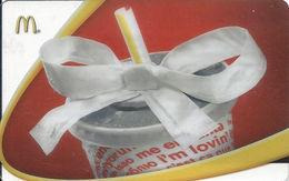 McDonalds Gift Card Copyright 2007 - Gift Cards