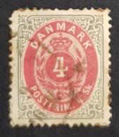 1870-1871 Royal Emblem, Danmark, Denmark, Danemark, *, ** Or Used - Usati