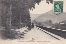 VILLEFRANCHE DE ROUERGUE PROMENADE ST JEAN ET QUAI - Villefranche De Rouergue
