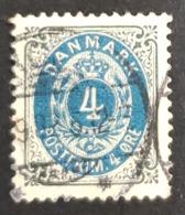 1895-1903 Royal Emblem, Danmark, Denmark, Danemark, *, ** Or Used - Usati