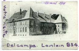 - Verdun - ( Meuse ), Palais De Justice, Ancienne Abbaye, Précurseur, écrite, 1901, , , Scans. - Verdun