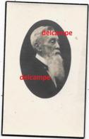 Bidprentje Alfons Callebaut Erembodegem 1859 VOORZITTER KERKRAAD En Aldaar Overleden 1945 Van Assche - Imágenes Religiosas