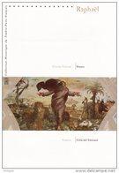 """"""" FRANCE - VATICAN : RAPHAEL """" Sur Document Philatélique Officiel De 2005 (4 Pages) N° YT BF 90 + TIMBRES VATICAN DPO - Emisiones Comunes"""