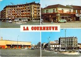 93 - LA COURNEUVE Le Carrefour Des 4 Routes ( Bar Tabac / Magasin PRISUNIC / 4 L Renault ) CPSM GF - Seine St Denis - La Courneuve