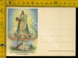Parma Vergine Del Santuario Di Careno Pellegrino Parmense - Parma