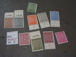 Deutsche Post  Aus  126 - 137 Y   ** MNH - Sowjetische Zone (SBZ)