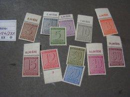 Deutsche Post  Aus  126 - 137 X   ** MNH - Sowjetische Zone (SBZ)