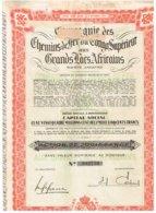 Titre Ancien - Compagnie Des Chemins De Fer Du Congo Supérieur  Aux Grands Lacs Africains - Titre De 1948 - Afrique