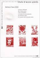 """ MEILLEURS VOEUX 2004 : CHEFS-D'OEUVRE GRAVES "" ( Marilyn Monroe / Inde / India / Warhol ....) - Cinéma"