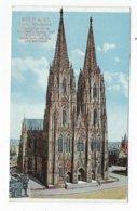 CPA - Allemagne - Köln - Dom - Westseite - Koeln