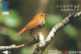JAPON. Billete De Transporte. AVE - BIRD. JP-BI-096. (169) REGULAR - Transporte