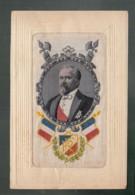 CP -  - Raymond Poincaré (à Confirmer - Carte Brodée - Personaggi