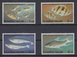 Thailand 1978 Fische Mi.-Nr. 871-874 ** / MNH - Tailandia
