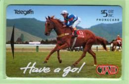 """New Zealand - 1994 TAB - $5 Race Horse """"Kiwi"""" - NZ-A-59 - Mint - Neuseeland"""