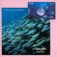 New Zealand - 1994 Oceanic Foods $50 - NZ-A-75 - Mint In Telecom Folder - Neuseeland