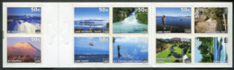 New Zealand Mail NZM Private Post PARACHUTE Mountain FISHING Lake GOLF Falls ROWING Canoe Boat Privatpost Poste Privée - New Zealand
