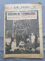 De Dag; Dagblad Antwerpen; 1937; Koningshuis; Kerstmis; Kerstboom; - Informations Générales