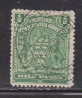RHODESIA Scott # 59 Used - Arms - Great Britain (former Colonies & Protectorates)