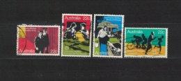 AUSTRALIEN , Australia , 1980 , Oo , Used , Gestempelt ,  Mi.Nr. 720 - 723 - 1980-89 Elizabeth II