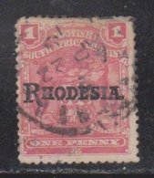 RHODESIA Scott # 83 Used - Arms With Overprint - Great Britain (former Colonies & Protectorates)