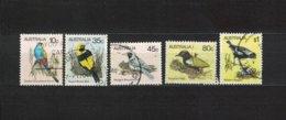 AUSTRALIEN , Australia , 1980 , Oo , Used , Gestempelt ,  Mi.Nr. 715 A - 719 A - 1980-89 Elizabeth II