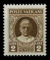 VATIKAN Nr 10 Ungebraucht X7C47EE - Vaticano (Ciudad Del)