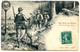 88 - Patriotique, La Frontière - Les Cols Des Vosges - On Vous Attend, La-bas - à L'horizon, Strasbourg - Non Classificati