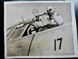PHOTO Presse WW2 WWII : Navy GUNNER Sur Bombardier _ US NAVY _ 1942 - Guerra, Militares