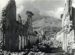Saint Pierre Eruption Du Mont Pellee Le 8 Mai 1902 Nuee Ardente Apres Rue V Hugo 4(scan Recto-verso) MA1090 - Martinique