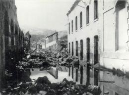 Saint Pierre Eruption Du Mont Pellee Le 8 Mai 1902 Nuee Ardente Apres Rhum St Pierre 6(scan Recto-verso) MA1090 - Martinique