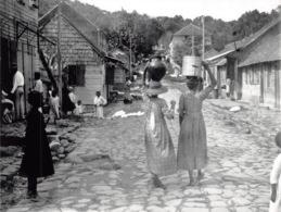 Saint Pierre Eruption Du Mont Pellee 8 Mai 1902 Nuee Ardente Avant  Rue Du Pav 19(scan Recto-verso) MA1090 - Martinique