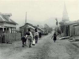 Saint Pierre Eruption Du Mont Pellee 8 Mai 1902 Nuee Ardente Avant RRE 30(scan Recto-verso) MA1090 - Martinique