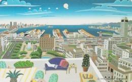 Télécarte Japon / 110-011 - ART NAIF PEINTURE USA - THOMAS MCKNIGHT - PAINTING Japan Phonecard - KUNST TK - 1823 - Peinture