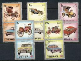Yemen Kingdom 1970 Mi#1174-1178 Automobiles CTO - Yemen