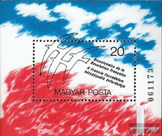 Hungary Block203A (complete Issue) Unmounted Mint / Never Hinged 1989 French Revolution - Blocks & Sheetlets