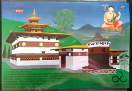 107. BHUTAN 2013 STAMP M/S LAMA DRUKPA KUNLEY, ART & HAPPINESS . MNH - Bhutan
