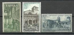 España 1964 ** Edifil 1563/65 ** Mnh Monasterio De Huerta - 1961-70 Nuevos & Fijasellos