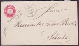GR    ZUZ  -  SCHULS  / EINWANDFREIE STEMPELUNGEN - 1882-1906 Wappen, Stehende Helvetia & UPU
