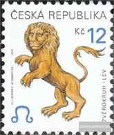 Czech Republic 282 (complete Issue) Unmounted Mint / Never Hinged 2001 Zodiac - Czech Republic