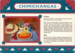 Recipe Card Chimichangas Chicken And Beef - Recipes (cooking)