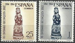 España 1964 ** Edifil 1615/1616** Mnh VII Aniversario Reconquista De Jerez. - 1961-70 Nuevos & Fijasellos