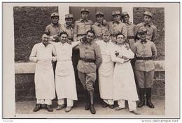 B27- MONTPELLIER - Le 10 Mars 1916 - Régiment Sur Col 32 + Tampon Préparation Militaires Société Lazare Carnot - 3 Scans - Montpellier