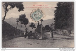 DA9-  65) ENTRÉE DE LA VALLÉE DU LOURON  A AVAJAN  - (TRES ANIMEE - PHOTOTYPIE LABOUCHE FRERES) - Frankreich