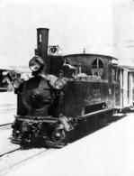 SAN-FELIU-de-GUIXOLS:  RENFE Belle Carte-photo Cartonnée 17x13cm,en 1930,tbe(voir Descriptif) - Estaciones Con Trenes
