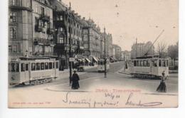 Zürich Theaterstrasse Tram 1901 ----- 425 - ZH Zurich