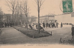 T21-93) PANTIN -  LE NOUVEAU SQUARE - (ANIMEE) - Pantin