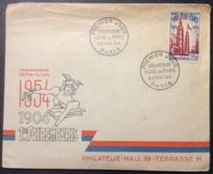 74-1 Foire De Paris 975 Cinquantenaire 22/5/1954  FDC Premier Jour Lettre Enveloppe - FDC